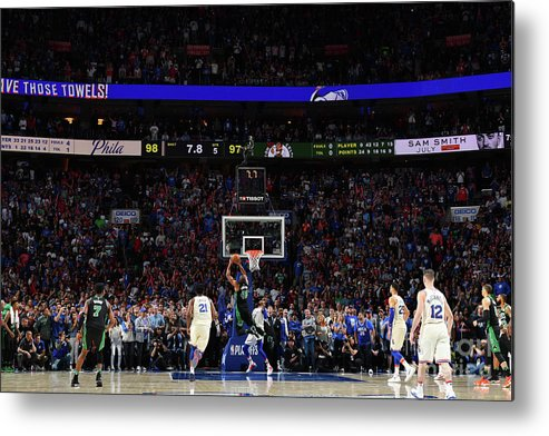 Playoffs Metal Print featuring the photograph Al Horford by Jesse D. Garrabrant