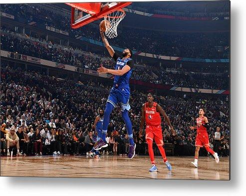 Nba Pro Basketball Metal Print featuring the photograph Anthony Davis by Jesse D. Garrabrant