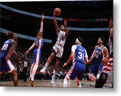 Playoffs Metal Print featuring the photograph Bradley Beal by Stephen Gosling