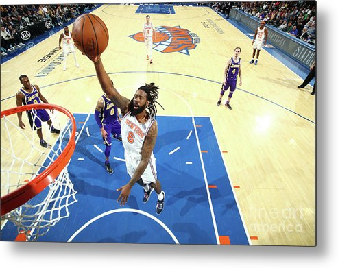 Nba Pro Basketball Metal Print featuring the photograph Deandre Jordan by Nathaniel S. Butler