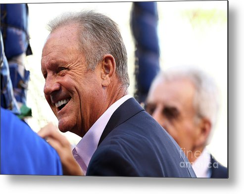 People Metal Print featuring the photograph George Brett by Elsa