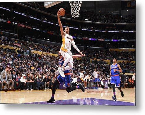 Nba Pro Basketball Metal Print featuring the photograph Jordan Clarkson by Andrew D. Bernstein