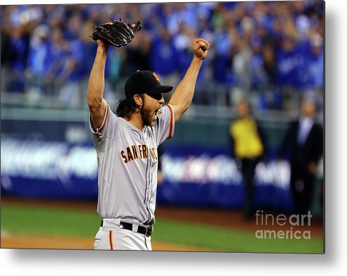 People Metal Print featuring the photograph Madison Bumgarner by Elsa