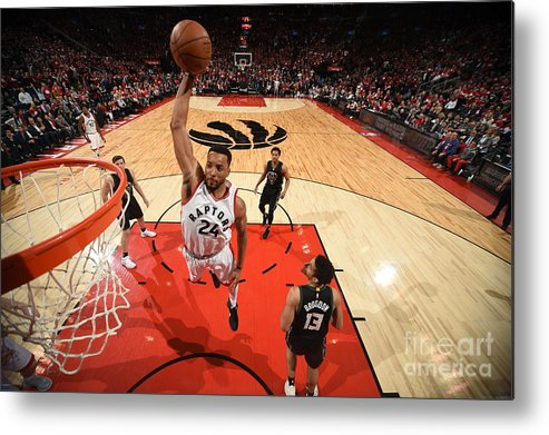 Playoffs Metal Print featuring the photograph Norman Powell by Ron Turenne