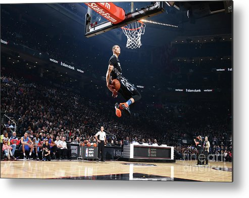 Event Metal Print featuring the photograph Zach Lavine by Nathaniel S. Butler