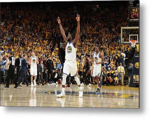 Playoffs Metal Print featuring the photograph Draymond Green by Nathaniel S. Butler
