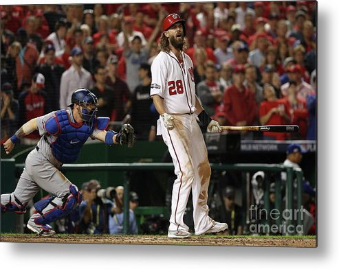 Ninth Inning Metal Print featuring the photograph Jayson Werth by Patrick Smith