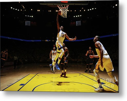 Playoffs Metal Print featuring the photograph Kevin Durant by Garrett Ellwood