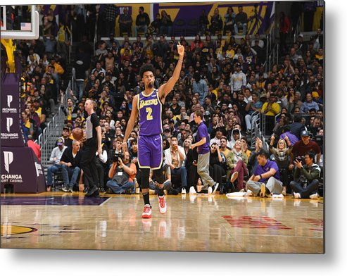 Nba Pro Basketball Metal Print featuring the photograph Quinn Cook by Andrew D. Bernstein