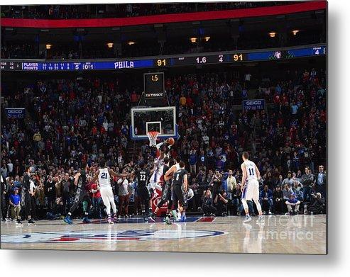 Nba Pro Basketball Metal Print featuring the photograph Robert Covington by Jesse D. Garrabrant