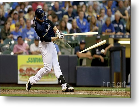 People Metal Print featuring the photograph Ryan Braun by Dylan Buell