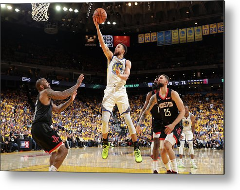 Playoffs Metal Print featuring the photograph Stephen Curry by Joe Murphy