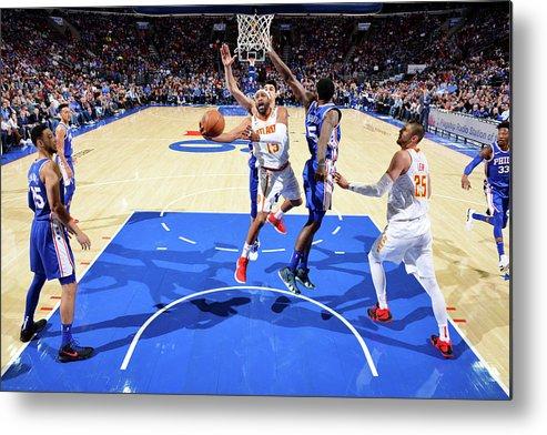 Nba Pro Basketball Metal Print featuring the photograph Vince Carter by Jesse D. Garrabrant