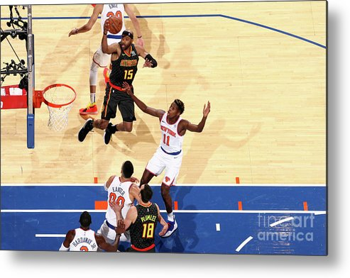 Nba Pro Basketball Metal Print featuring the photograph Vince Carter by Nathaniel S. Butler