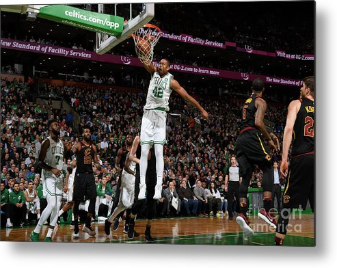 Nba Pro Basketball Metal Print featuring the photograph Al Horford by Brian Babineau