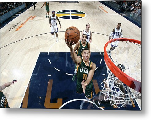 Nba Pro Basketball Metal Print featuring the photograph Dante Exum by Melissa Majchrzak