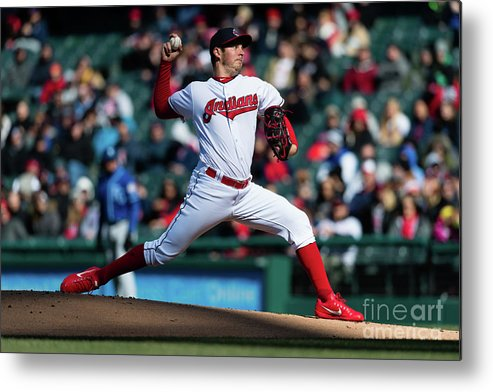 People Metal Print featuring the photograph Trevor Bauer by Jason Miller