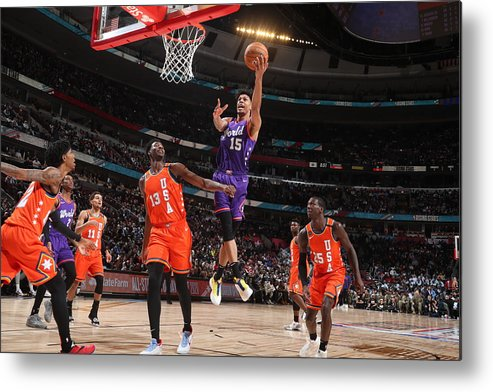 Nba Pro Basketball Metal Print featuring the photograph 2020 NBA All-Star - Rising Stars Game by Nathaniel S. Butler