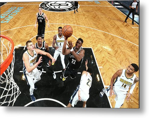 Nba Pro Basketball Metal Print featuring the photograph Caris Levert by Nathaniel S. Butler