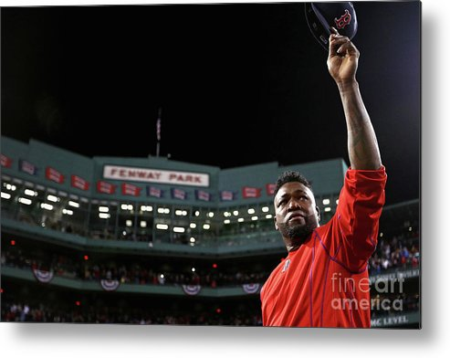 People Metal Print featuring the photograph David Ortiz by Maddie Meyer