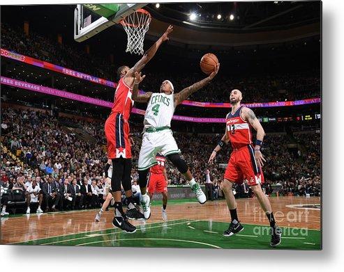 Nba Pro Basketball Metal Print featuring the photograph Isaiah Thomas by Brian Babineau