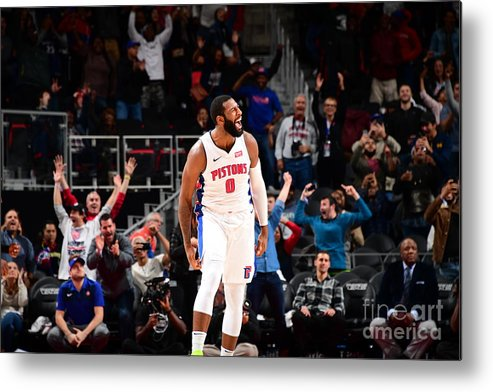Nba Pro Basketball Metal Print featuring the photograph Andre Drummond by Chris Schwegler