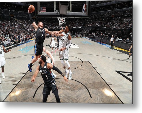 Playoffs Metal Print featuring the photograph Blake Griffin by Nathaniel S. Butler