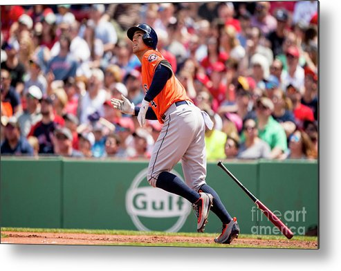 Second Inning Metal Print featuring the photograph George Springer by Billie Weiss/boston Red Sox