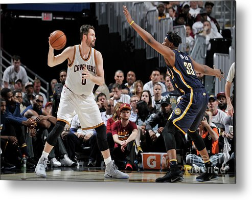 Playoffs Metal Print featuring the photograph Kevin Love by David Liam Kyle