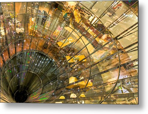 Berlin Metal Print featuring the photograph A Point of Convergency by Christian Beirle