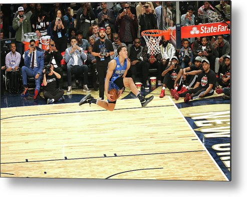 Event Metal Print featuring the photograph Aaron Gordon by Bruce Yeung