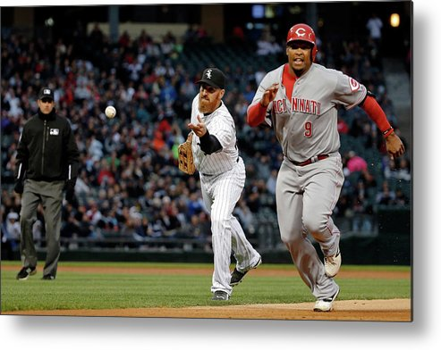 Adam Laroche Metal Print featuring the photograph Adam Laroche, Marlon Byrd, and Emilio Bonifacio by Jon Durr