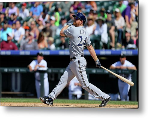 People Metal Print featuring the photograph Adam Lind by Justin Edmonds