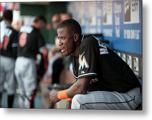 Citizens Bank Park Metal Print featuring the photograph Adeiny Hechavarria by Rob Tringali