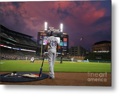 Adrian Beltre Metal Print featuring the photograph Adrian Beltre by Gregory Shamus