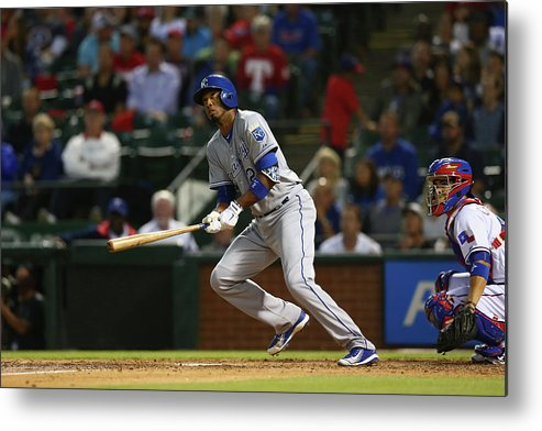 People Metal Print featuring the photograph Alcides Escobar by Ronald Martinez