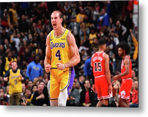 Nba Pro Basketball Metal Print featuring the photograph Alex Caruso by Jesse D. Garrabrant