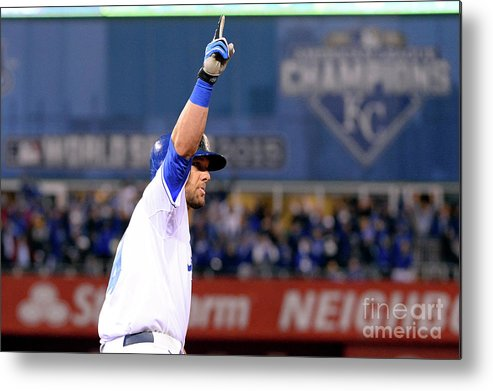 Playoffs Metal Print featuring the photograph Alex Gordon by Ron Vesely