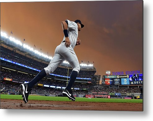 People Metal Print featuring the photograph Alex Rodriguez by Drew Hallowell