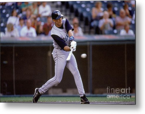 People Metal Print featuring the photograph Alex Rodriguez by John Reid Iii