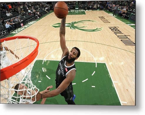 Playoffs Metal Print featuring the photograph Andre Drummond by Gary Dineen