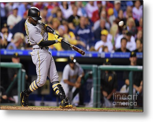 People Metal Print featuring the photograph Andrew Mccutchen by Drew Hallowell