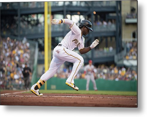 Pnc Park Metal Print featuring the photograph Andrew Mccutchen by Rob Tringali