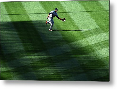 Second Inning Metal Print featuring the photograph Anthony Gose by Harry How