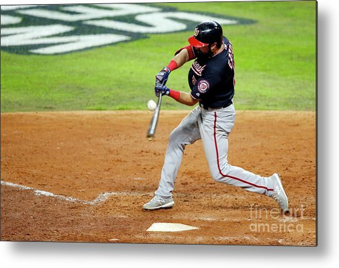 American League Baseball Metal Print featuring the photograph Anthony Rendon by Bob Levey