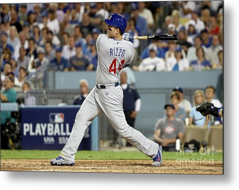 People Metal Print featuring the photograph Anthony Rizzo by Sean M. Haffey