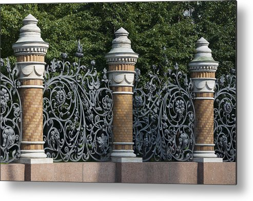 Architectural Feature Metal Print featuring the photograph Architectural detail in Russia by Fotosearch