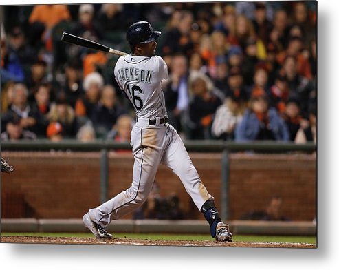 San Francisco Metal Print featuring the photograph Austin Jackson by Lachlan Cunningham