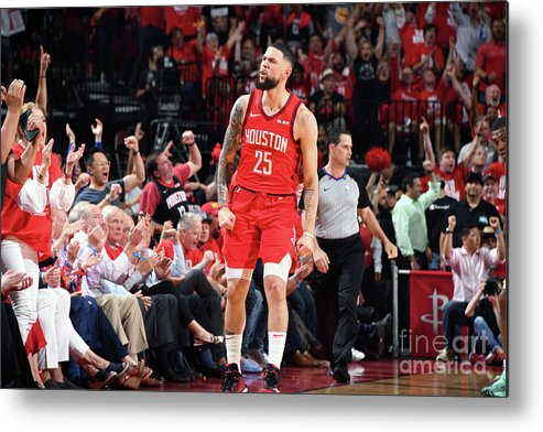 Playoffs Metal Print featuring the photograph Austin Rivers by Andrew D. Bernstein
