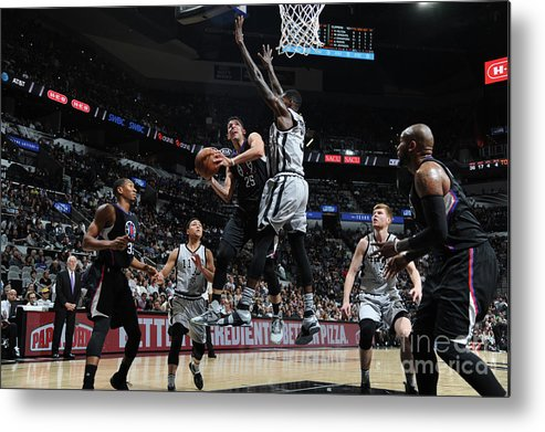 Nba Pro Basketball Metal Print featuring the photograph Austin Rivers by Mark Sobhani